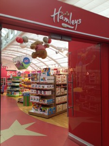 Hamley's Toy Store in Illums